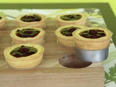 Ricetta delle mini cheesecake alle amarene foto