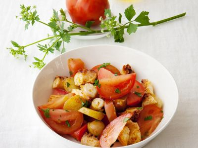 ricetta del mix piccantino di polpo e patate novelle