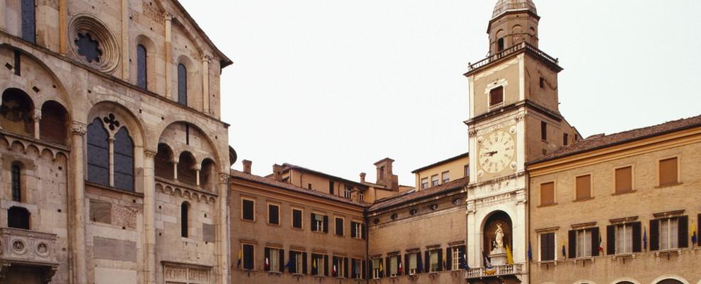 Piazza Grande a Modena