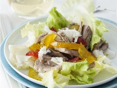 Ricetta insalata di bollito con mostarda