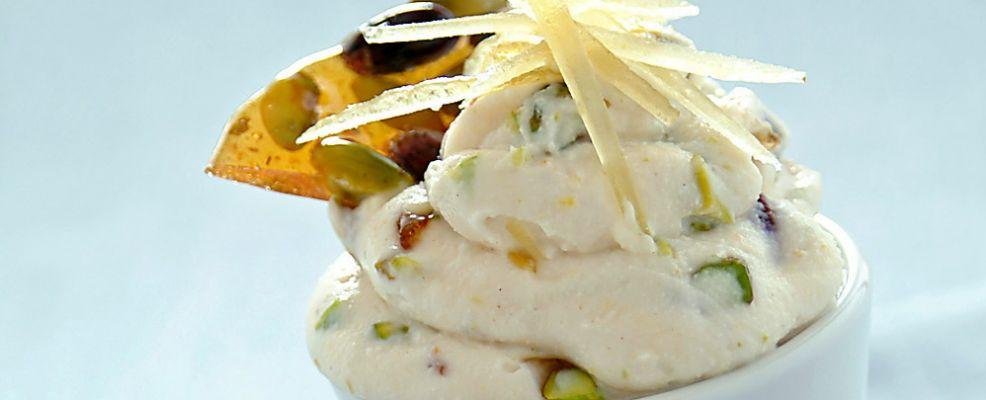 Mousse al croccante di pistacchi Sale&Pepe