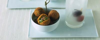 Ricetta delle olive ascolane ai filetti di acciuga