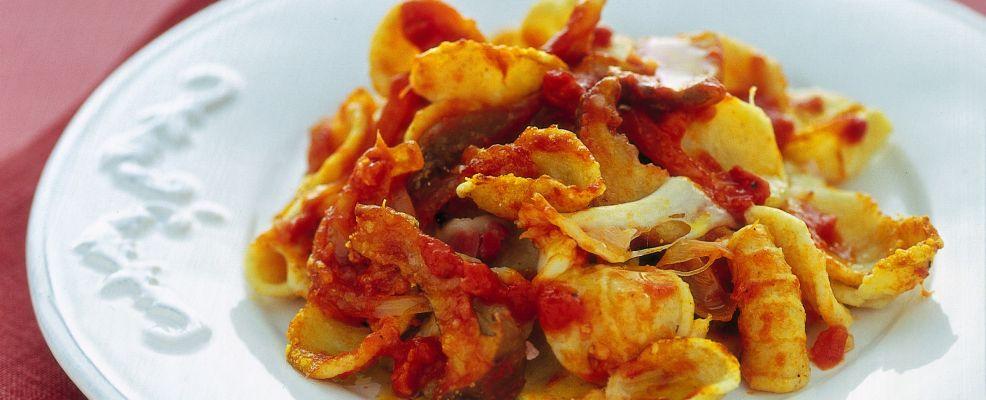 Orecchiette al forno Sale&Pepe ricetta