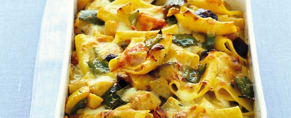Paccheri al forno con mozzarella e acciughe Sale&Pepe
