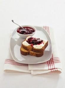 Pan brioche con le ciliegie