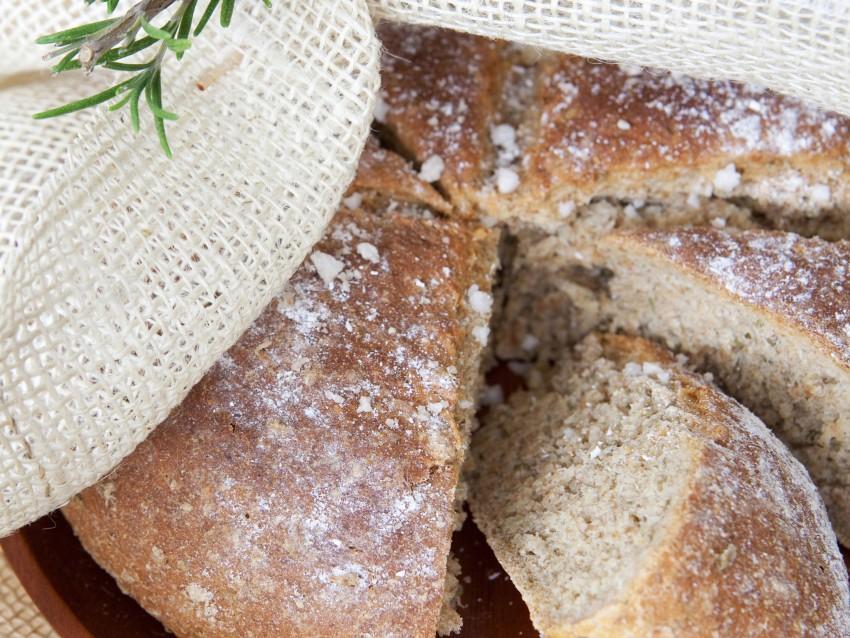 Pane al rosmarino Sale&Pepe preparazione