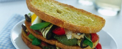Ricetta panino mediterraneo