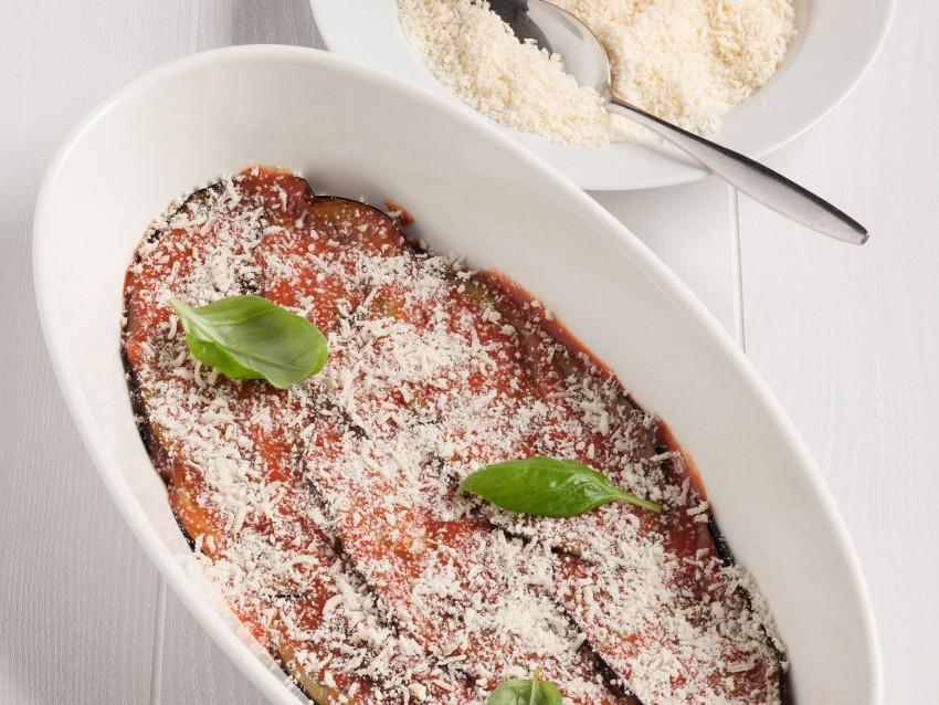 Parmigiana di melanzane Sale&Pepe preparazione