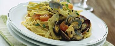 Ricetta pasta con carciofi e vongole ricetta