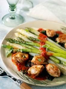 Pulire e preparare gli asparagi