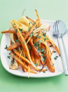 Pulire e preparare le carote