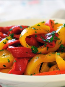 Come pulire e tagliare i peperoni