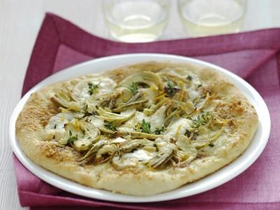 Ricetta pizza bianca alla mozzarella e arancia ricetta