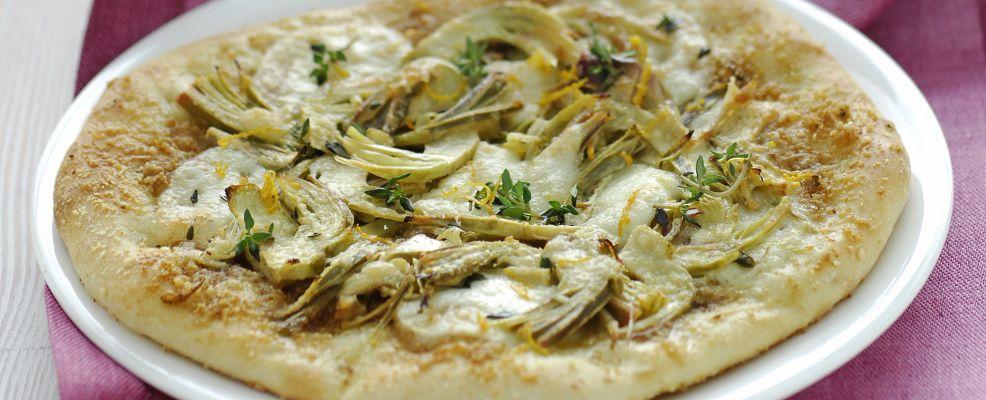 Pizza bianca alla mozzarella e arancia Sale&Pepe ricetta