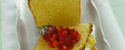 Ricetta plum cake glassato foto