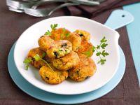 Polpette di merluzzo e patate con le olive Sale&Pepe