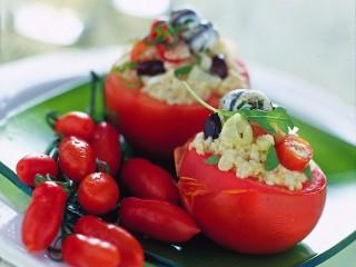 Pomodori ripieni alla panzanella Sale&Pepe