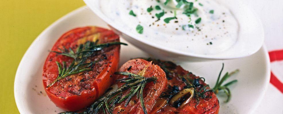 Pomodorini in crema di formaggio Sale&Pepe ricetta