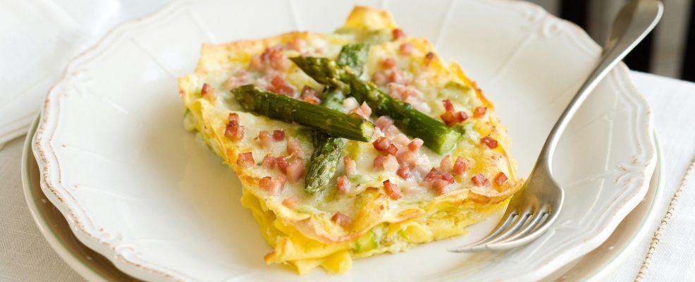 ricetta lasagne agli asparagi e prosciutto cotto Sale&Pepe