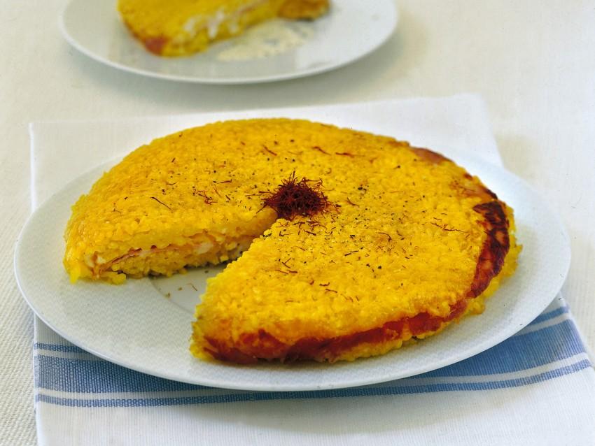 ricetta Risotto alla milanese farcito Sale&Pepe