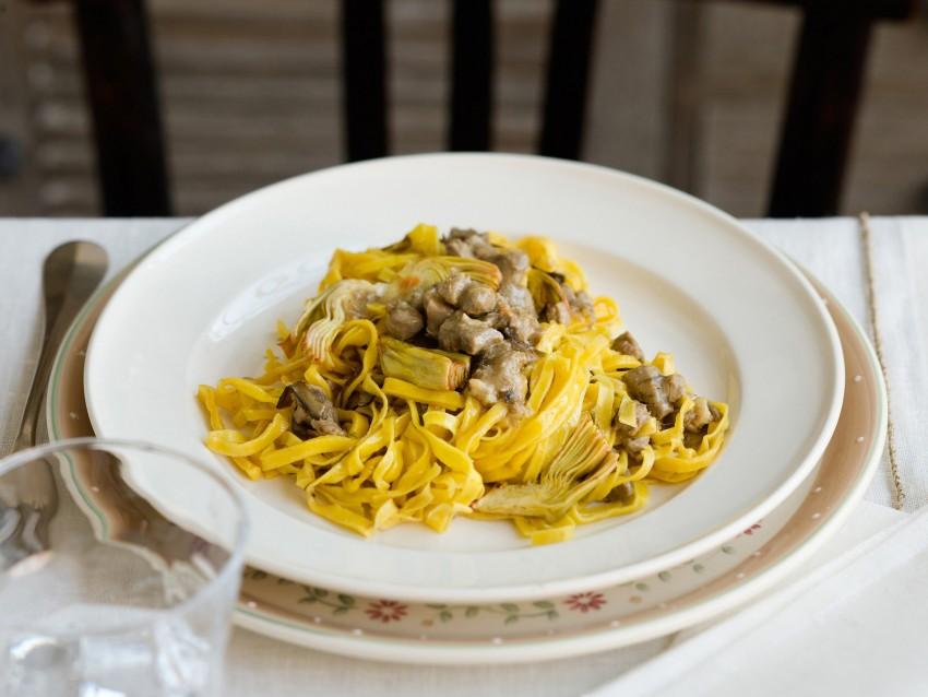 ricetta Tagliatelle con ragù di agnello e carciofi Sale&Pepe