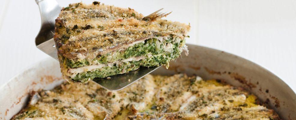 ricetta Torta di acciughe e verdure Sale&Pepe