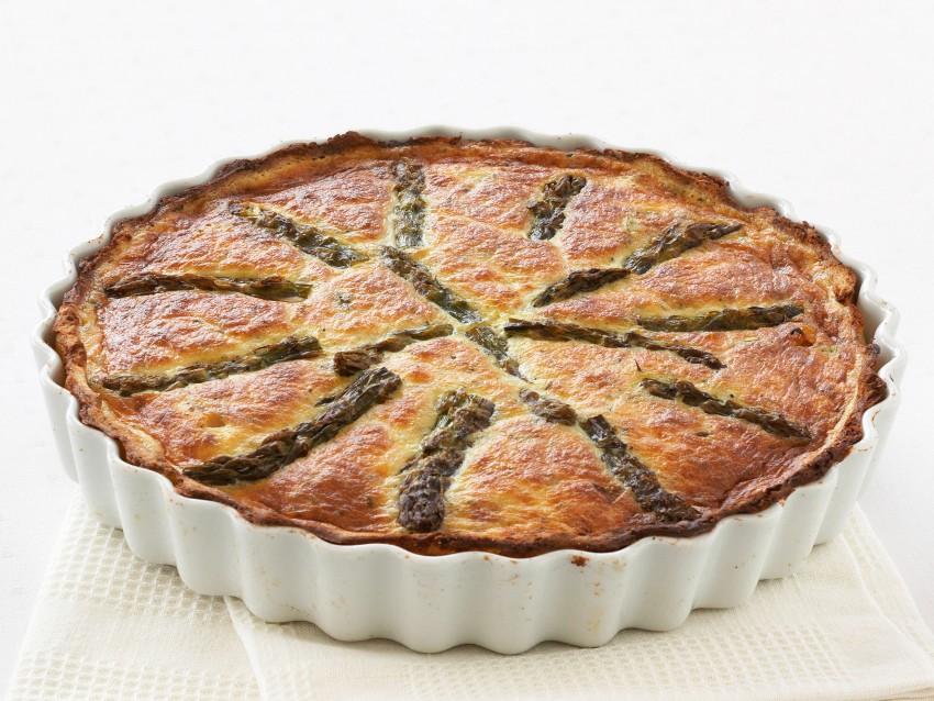 ricetta Quiche con ripieno di asparagi in crosta di patate Sale&Pepe