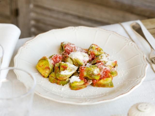 ricetta Tortelloni verdi di ricotta burro e oro Sale&Pepe