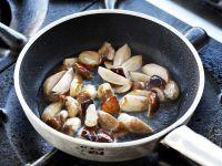 Risotto mantecato ai funghi e mirtilli Sale&Pepe foto