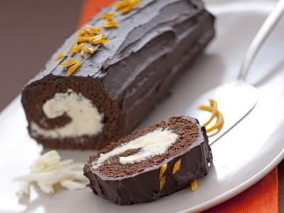 Rotolo con crema al cioccolato bianco Sale&Pepe ricetta