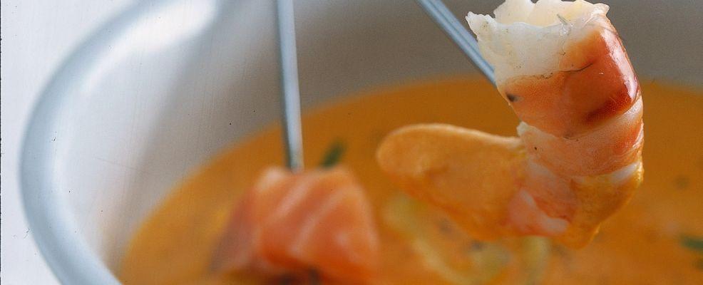 Stuzzicante con salsa di peperoni Sale&Pepe ricetta