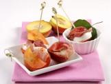 Sandwich di pesca noce, mozzarella e prosciutto Sale&Pepe