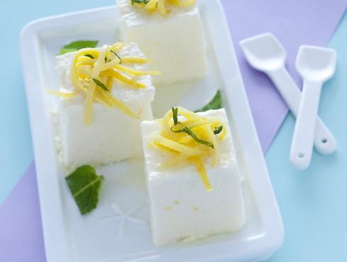 Semifreddo di ricotta al profumo di menta e limone Sale&Pepe