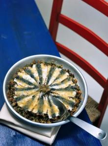 Sfogliata di sarde alle zucchine