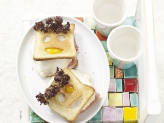 Ricetta merenda Smile toast Sale&Pepe