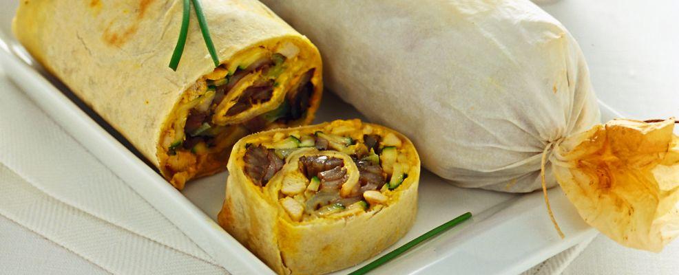 strudel con verdure, robiola e pollo al curry Sale&Pepe