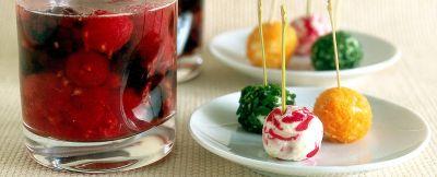 Tartufini formaggio e verdure ricetta