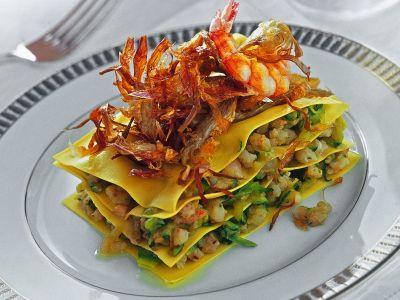 Ricetta torrette gamberi e zucchine ricetta