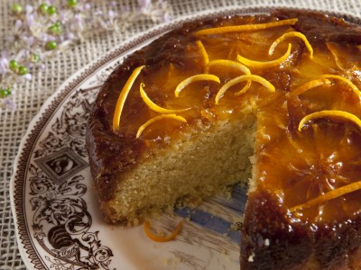 Ricetta torta con arance caramellate  ricetta