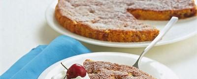 Torta carote ciliegie