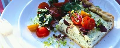 Ricetta torta di formaggio ed erbe