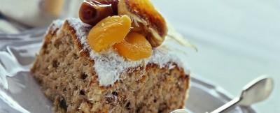 Ricetta torta di frutta secca e cocco