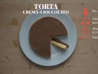 torta gelato crema cioccolato