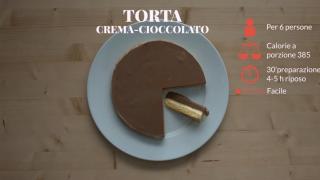 Torta gelato crema-cioccolato