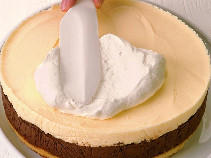 Torta crema-cioccolato Sale&Pepe immagine