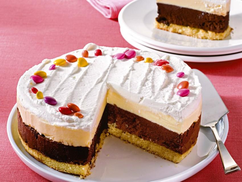 Torta crema-cioccolato Sale&Pepe preparazione