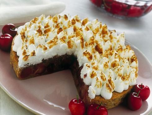 Torta meringata bicolore Sale&Pepe
