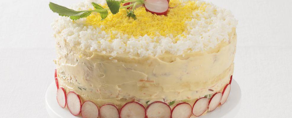 Torta mimosa salata Sale&Pepe