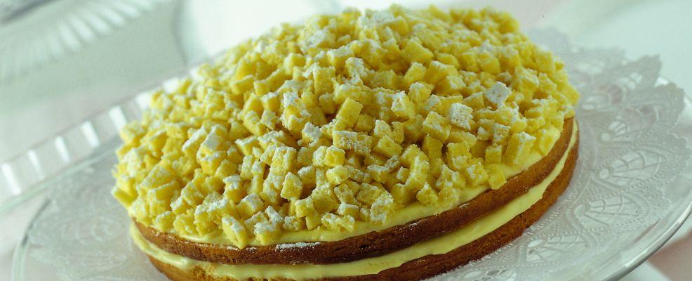 Torta mimosa Sale&Pepe step