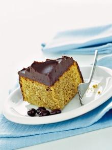 Torta moka con ganache